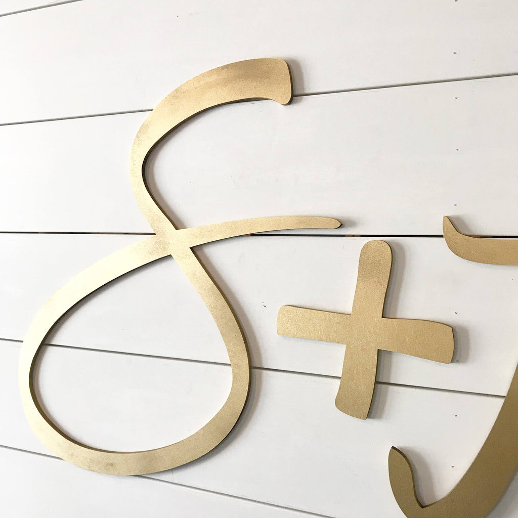 WEDDING INITIALS - MODERN