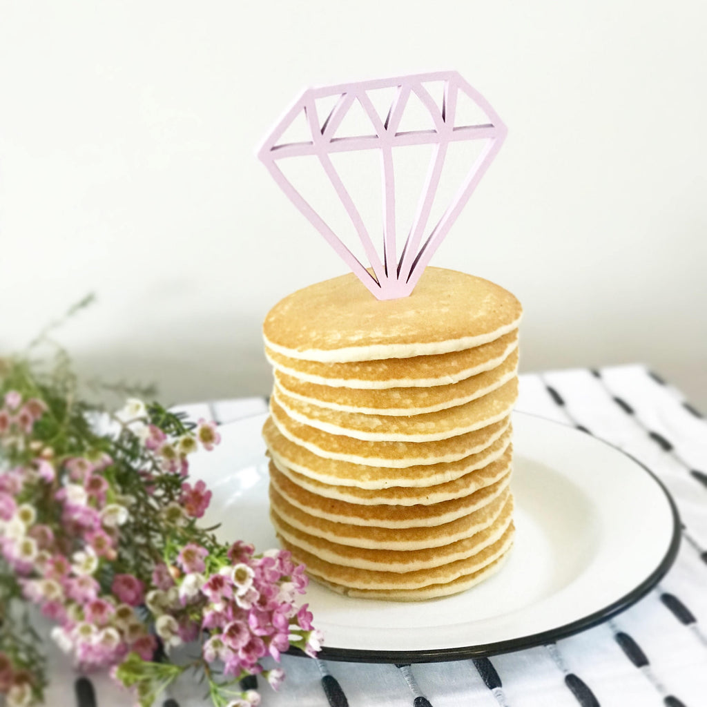 CAKE TOPPER - DIAMOND
