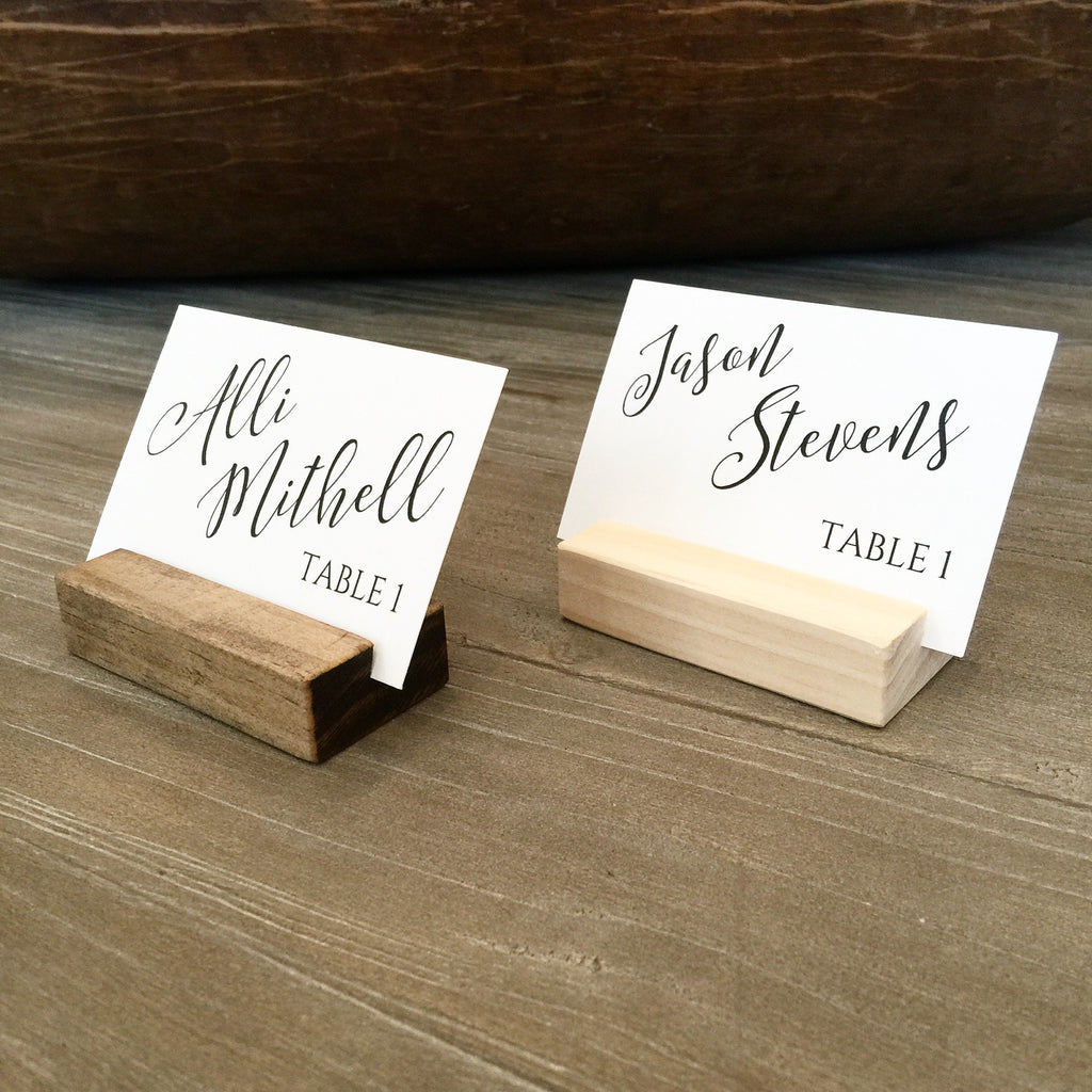 "TABLE NUMBER HOLDERS - 5"" - SET OF 20"
