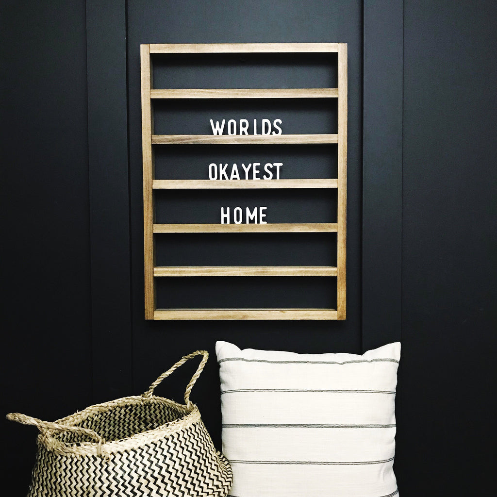 LETTER BOARD - VERTICAL