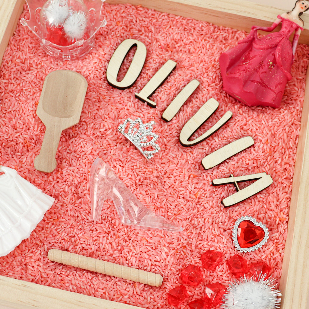 princess themed sensory kit