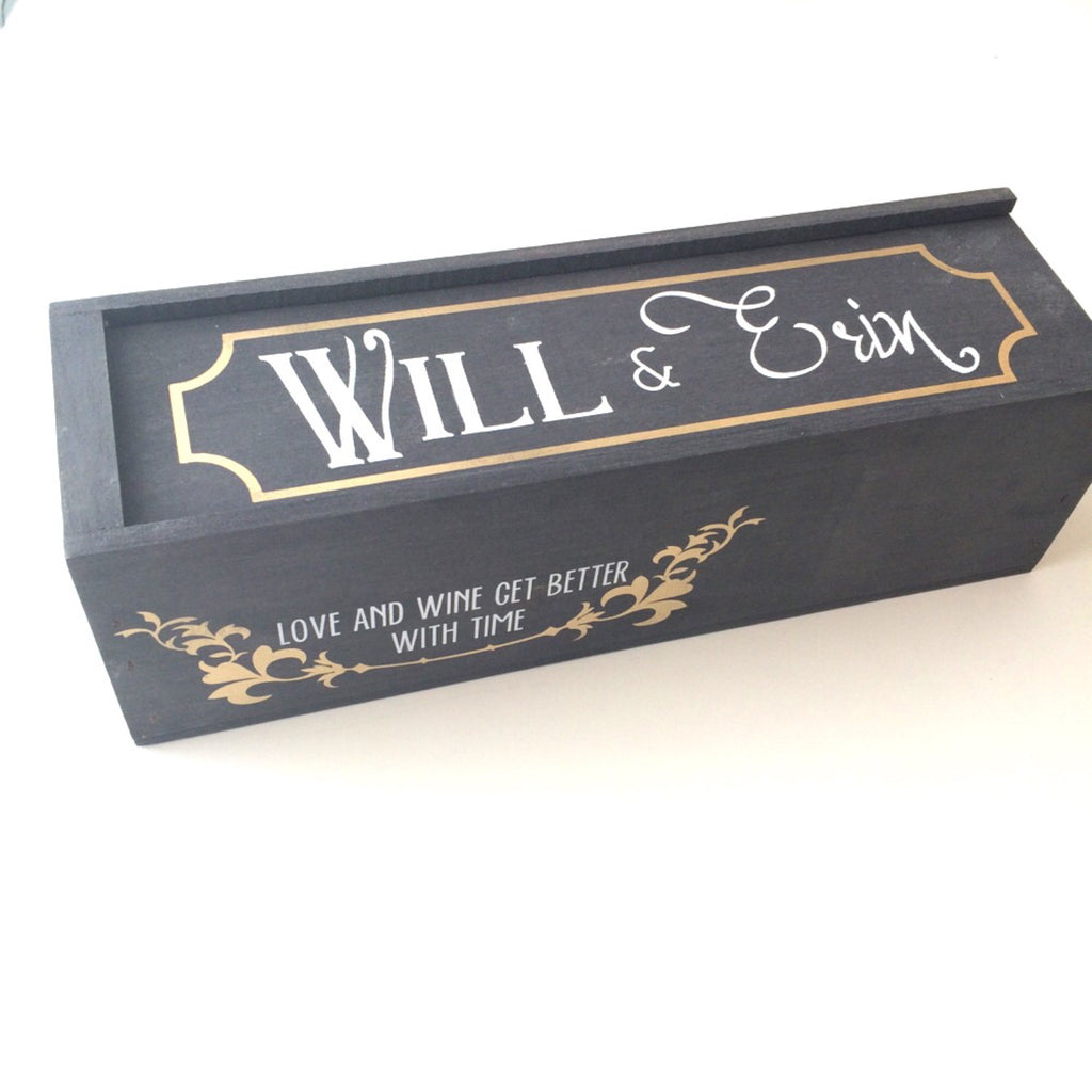 WINE BOX - ART DECCO