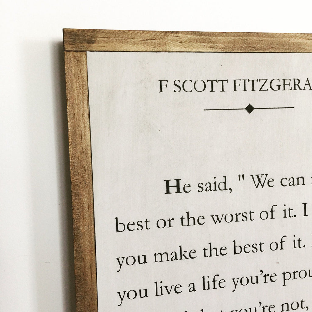 BOOK PAGE - FITZGERALD - LARGE