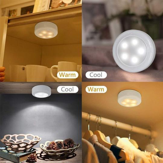 JUST $6.99 - Color-Changing Remote-Controlled LED Wireless