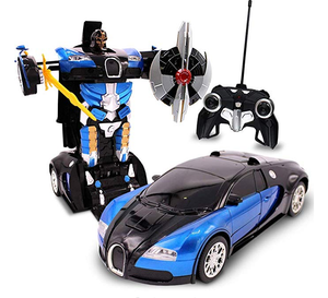 Deformation Transformation Robot Car Toys for Children Gifts