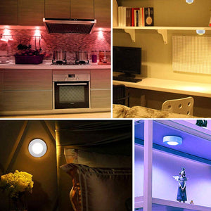 JUST $7.99 - Color-Changing Remote-Controlled LED Wireless