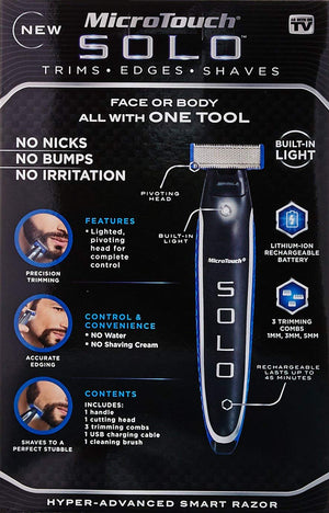 Holiday sales-68%OFF Micro Touch Rechargeable Shaver, Trimmer and Edger