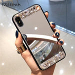 Diamond Mirror Phone Case for iPhone 6 6S Plus 6 7 8  X XS