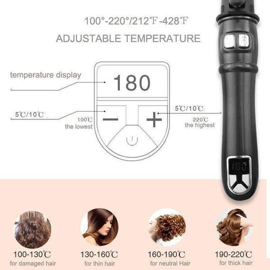 80%OFF only today-Professional Auto Rotating Curling Iron