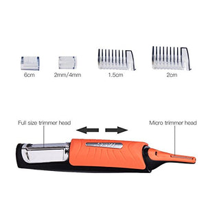 Man's Clipper Micro Trimmer ™: All-in-One