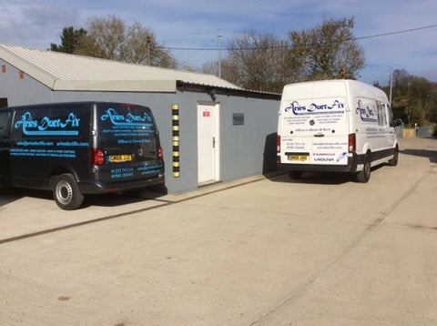 ducting and dust extraction machines delivery vehicles