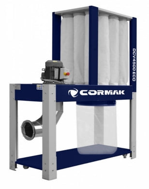 Cormak Dust Extractor single bag multi filter model DCV4500 Eco