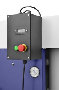 cormak dust extractor control panel with sensor