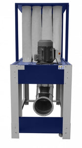 cormak dcv6500 eco dust extraction side view