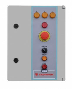 cormak dcv6500tc dust extraction automated control panel