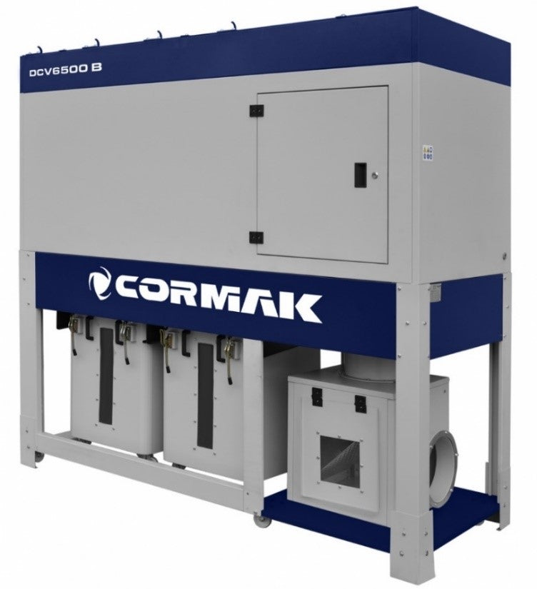 Cormak Dust Extractor model DCV6500TC at aries duct fix