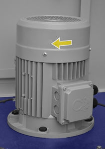 dust extraction filter powerful fan by cormak close up