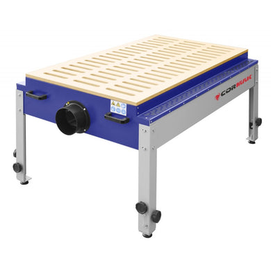 cormak dt1500 downdraft table with protective top