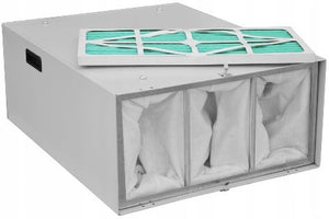 industrial air filter with air filtration system