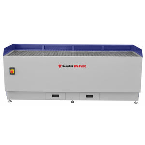 cormak dust extractor downdraft table side view