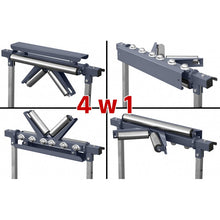 Load image into Gallery viewer, Universal 4 in 1 Metalwork Roller Conveyor Feeder Work Table Bench New Model