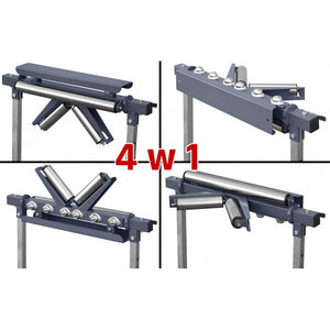 Universal 4 in 1 Metalwork Roller Conveyor Feeder Work Table Bench New Model