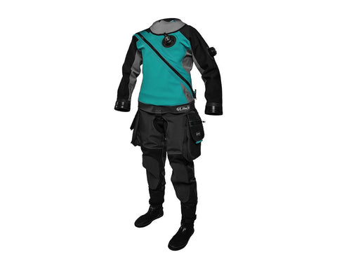 Santi E.Lite PLUS Drysuit - Ladies First - Frog Dive