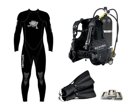 Gear Hire - FULL Set - Frog Dive