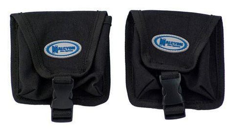 Halcyon Tank Mounted Trim Weight Pockets - Frog Dive