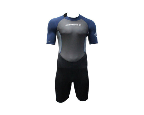 Ocean Pro Orbit 2.5mm Men Shortie Wetsuit