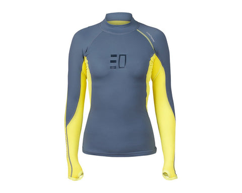 Enth Degree Bombora Womens Long Sleeve Top - Frog Dive