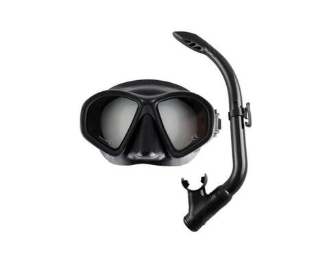 Ocean Hunter Phantom YOUTH Mask & Snorkel Set - Frog Dive