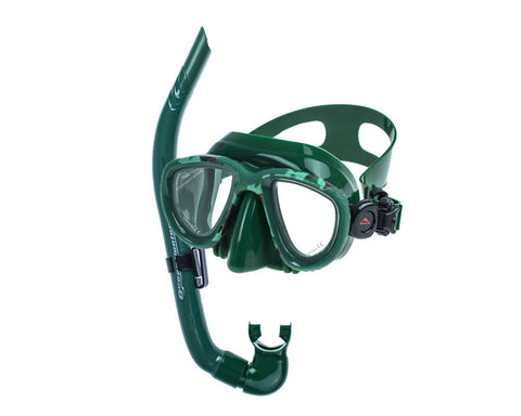 Ocean Hunter Chameleon Mask and snorkel Set