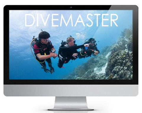 ONLINE TRAINING: PADI Divemaster Course - Frog Dive