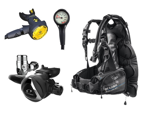 "Oceanic Excursion BCD Package: ""The Instructor Choice"" - Frog Dive"