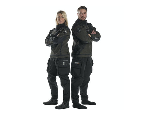 Fourth Element Argonaut 2.0 Stealth Hybrid Drysuit - Frog Dive
