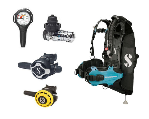 Scubapro Hydros Scuba Package - Ladies - Frog Dive