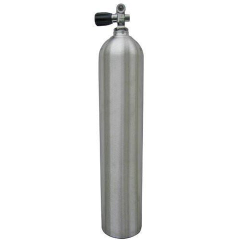 Aluminium Tank S-40 5.7 litre with Din or K Valve