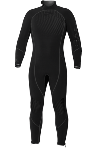 BARE Reactive Titan Black 7mm Wetsuit - Frog Dive