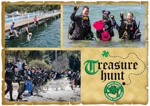 Treasure Hunt - Diving, BBQ, Prizes & more!