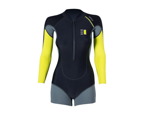 Enth Degree Cirrus Womens Long Sleeve Active Wear - Frog Dive