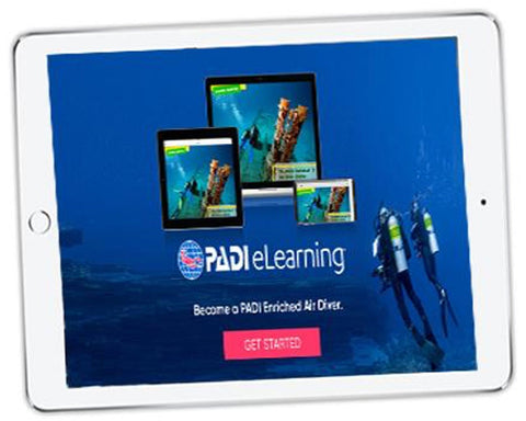 ONLINE TRAINING: PADI Enriched Air (NITROX) Diver