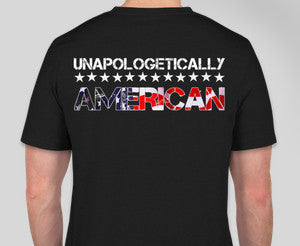 Men's Unapologetic American V-Neck T-Shirt