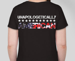 Women's Unapologetic American T-Shirt