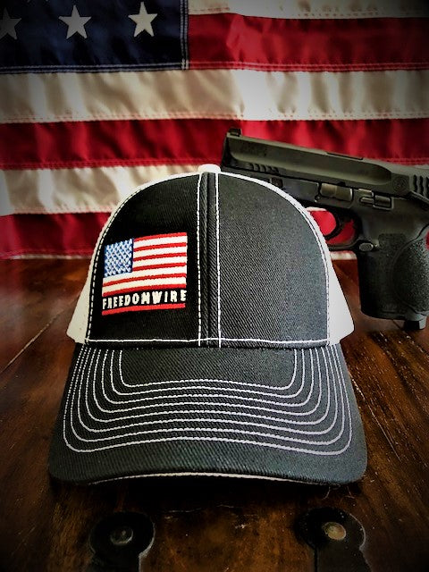 Freedomwire Flag - Snap Back Trucker Hat