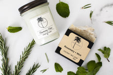 Load image into Gallery viewer, Rosemary + Mint Coconut Milk Soap