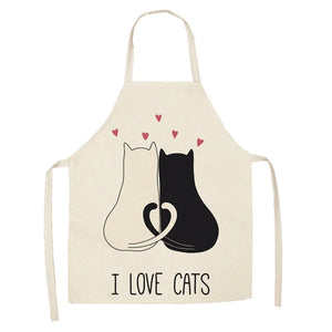 Cute Kitten Kitchen Aprons