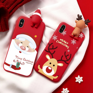 Winter Gallore Christmas Phone Case for iPhone
