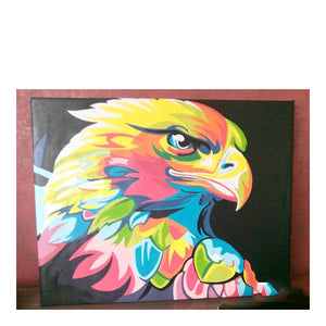 DIY Animal Pictures Oil Painting By Numbers Coloring
