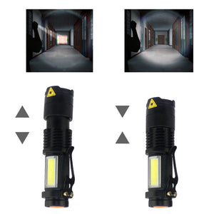 Ultra Compact Super Bright LED Flashlight